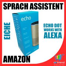 Amazon Echo (2. Generation) Sprachgesteuerter Smart Assistant - Eiche Optik NEU