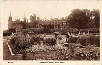 POSTCARD  HERTS - KNEBWORTH HOUSE - SOUTH FRONT  - RP