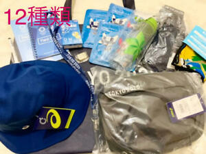 Specials New Olympics 12 types ASICS West Pouch Hat Socks