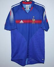 France National Team shirt home 04/05 Adidas Zidane Henry size S