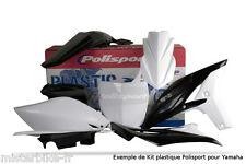 Kit plastiques Coque Polisport  Yamaha YZ 450 F 2010-2013  Couleur:  Blanc
