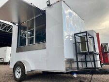 7x10 New Concession Food Trailer. Custom Trailers Manufacturer 7x12, 8x14, 8x16