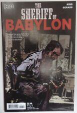2016 THE SHERIFF OF BABYLON #7 -  VG                   (INV20221)