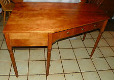 Maple Ethan Allen Mid Century Corner Desk  (DR82)