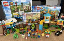 LEGO DISNEY PIXAR TOY STORY 4 LOT - 10769 - 10768 - 10766
