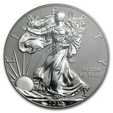2012-S Silver American Eagle 75th Anniversary 2 Coin Set - SKU #70576