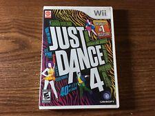 JUST DANCE 4 Nintendo Wii Complete
