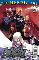 Secret Avengers Comic 1 Cover A 1st team appearance of the Shadow Council Marvel