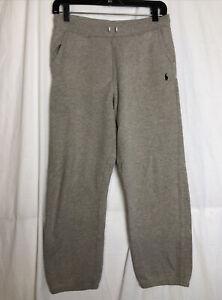 Polo Ralph Lauren Kids Gray Sweat Pants Jogging Pants Elastic Bottom Size L