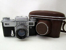 Kiev-4 + Lens Jupiter-8M f2/5cm Vintage USSR Soviet RF 35mm Camera copy Contax
