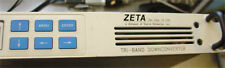 Zeta Tri-Band Down Converter covers substantial parts of S, C, X and Ku bands