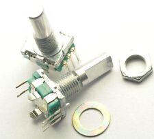 2pcs Rotary Encoder With Switch Ec11 Audio Digital Potentiometer Handle 20mm