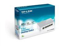 TP-LINK TL-SF1005D 5-Ports External Desktop Ethernet Switch Hub 10/100 Mbps New