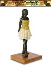 EDGAR DEGAS STATUE SCULPTURE FIGURINE FOURTEEN YEAR OLD LITTLE BALLERINA DANCER