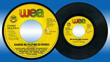 Philippines HANDOG NG PILIPINO SA MUNDO Apo Hiking, Celeste OPM 45 rpm Record