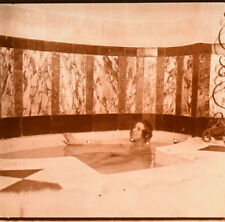 Stereo view on glass, erotic, nude female, atrium series j. richard 5