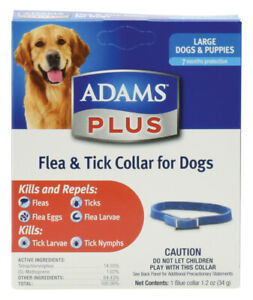 Adams Plus Flea & Tick Collar for Dogs, Large    free Shipping