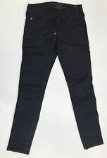 G-Star Raw Jeans 'ELWOOD HERITAGE NARROW WMN' Black W25 L30 NEW RRP $289 Womens