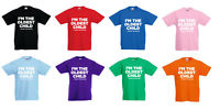 I'm The Oldest Youngest Middle Only Child Kids Funny T-Shirt Ages 3-13 Christmas