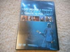 "THIN LIZZY GARY MOORE ""ONE NIGHT IN DUBLIN"" (A TRIBUTE TO PHIL LYNOTT) DVD MINT"