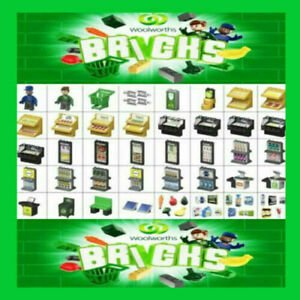 Woolworths Bricks Supermarket Pack Pick Your Own Set All 40 Available Kids Gift