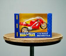 Maisto Road & Track Die Cast Scale Model Toy Motorcycle Honda NR Red Racer Bike