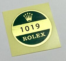 1019 ROLEX Sticker Reference Caseback MILGAUSS VINTAGE 1970's OEM New Old Stock