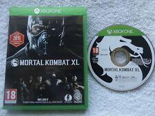 MORTAL KOMBAT XL XBOX ONE V.G.C. FAST POST ( fighting game )