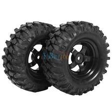4x Bergsteiger Räder/Reifen + Felgen für RC1/10 Geländewagen Crawler 96mm L2sn