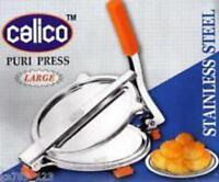 19 cm antiscivolo e base pesante base antiscivolo Pressa manuale in ghisa tortilla puri Chapati Roti Khakhra Quesadilla resistente utensili da cucina facile da usare alta qualit/à