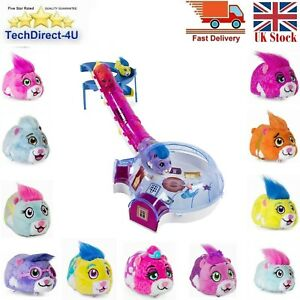 """Spin Master Zhu Zhu Pets Furry 4"""" Hamster Toy With Sound & Movement 11 Types"""