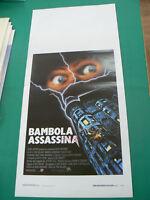 LOCANDINA manifesto LA BAMBOLA ASSASSINA horror regia Tom Holland 1988