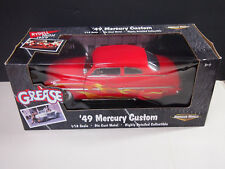 ERTL Grease 1949 Mercury Custom Coupe 1:18 Scale Diecast '49 Movie Replica Car
