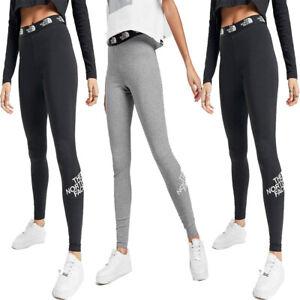 The North Face Womens Leggings Leggins Fitness Ladies Sports Gym Yoga Pants Size