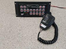 Federal Signal Smart Siren Platinum Series B Control Head W/ Hand Mic