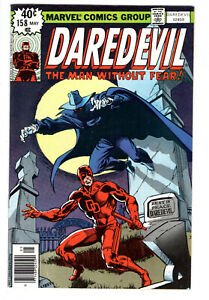 DAREDEVIL #158 (1979) - GRADE 9.0 - 1ST APPEARANCE FRANK MILLER DAREDEVIL!