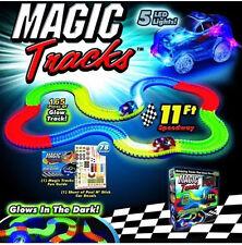 Kids Toys Car Boy Gift For Christmas Magic Tracks As Seen On Tv Toy Set 165 Pcs
