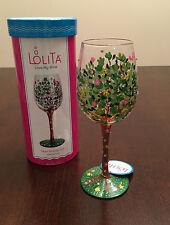 Enesco LOLITA WINE GLASS MOM STANDS TALL NIB GLS11-5534F