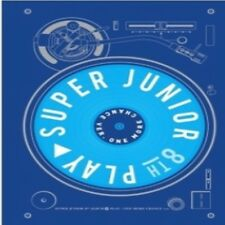 Super Junior - [Play] 8th Album One More Chance Ver CD+Poster+Booklet+Card K-POP