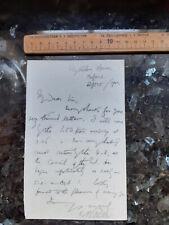 More details for 1902 professor edward bagnall poulton zoologist darwinist autograph letter