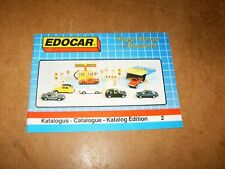ancien catalogue vintage - miniatures EDOCAR toy vehicles ( EDOR ) - 1988