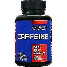 Prolab Nutrition Caffeine Tablets - 60 count x 200mg