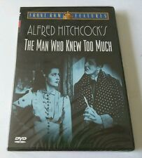 """The Man Who Knew Too Much (DVD, 2001) LESLIE BANKS PETER LORRE EDNA BEST  """"NEW"""""""