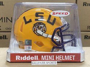 LSU TIGERS - Riddell Speed Mini Helmet