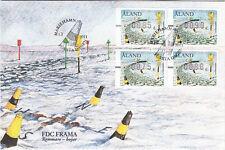 Navigation Aland Frama ATM Beacons Buoy Åland Finland Mint FDC 2011