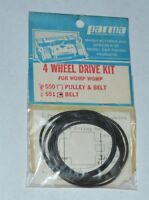Parma International 4 Wheel Drive Kit #551 Womp Womp 1/32 Vintage slot car