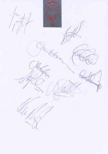 Lincoln City FC - Signed Team Sheet - COA (14938)