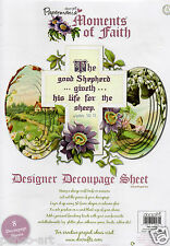 docrafts Papermania Moments of Faith DESIGNER Decoupage Sheets