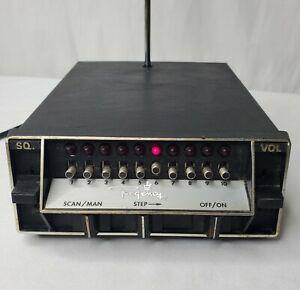 Vintage Regency ACT-R-106 Radio Receiver 10 Channel Scanner Works