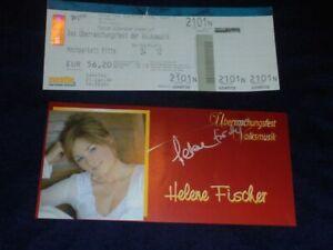 Helene Fischer - Autogramm - signiert - 2006 - persönlich gesammelt